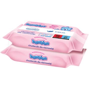Bambino – chusteczki nawilżające dla niemowląt. Usuwają zabrudzenia, nie podrażniając skóry.
