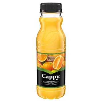 Sok pomarańczowy 100% - Cappy. Zdrowa porcja witamin.