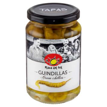 Ostre zielone papryczki – Plaza del Sol są doskonałym składnikiem sałatek i potraw na gorąco.