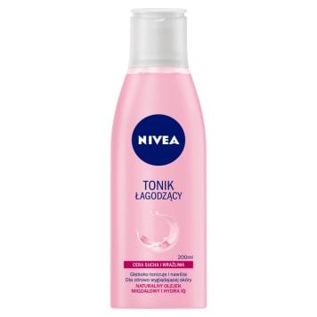 NIVEA Tonik łagodzący (cera sucha i wrażliwa) 200ml. Delikatnie oczyszcza skórę nie wysuszając jej.