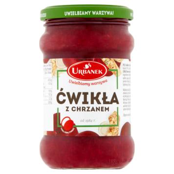 Ćwikła z chrzanem - Urbanek. Aromatyczny dodatek do różnych potraw.