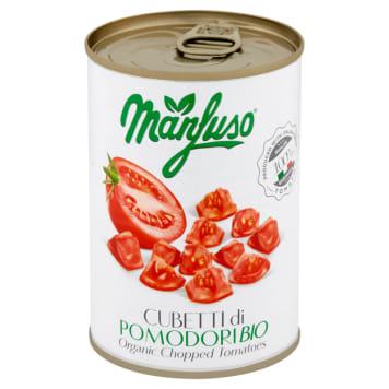 MANFUSO Pomidory w kawałkach BIO 400g