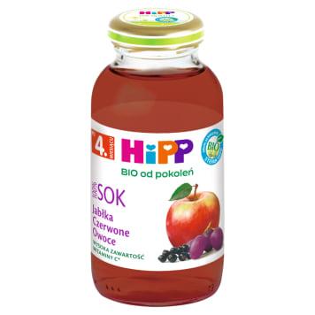HIPP Sok Czerwone Owoce - po 4 miesiącu 200ml - dla dzieci po czwartym miesiącu życia.