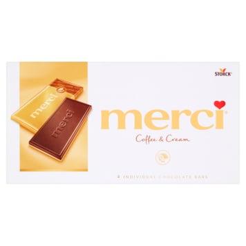 MERCI Czekolada kawowo-śmietankowa 100g