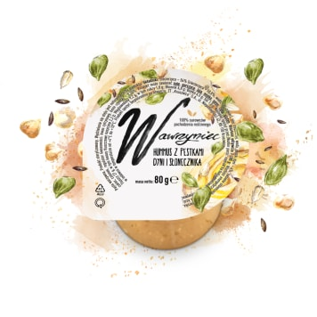 WAWRZYNIEC Pasta warzywna hummus 80g