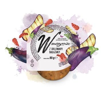 WAWRZYNIEC Pasta warzywna z grilowanym bakłażanem 80g