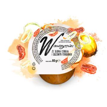 WAWRZYNIEC Pasta warzywna ze słodką cebulką i suszonymi pomidorami 80g