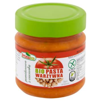 PRIMAECO Pasta warzywna pomidorowa z cieciorką bezglutenowa BIO 160g
