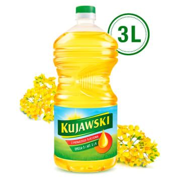 KUJAWSKI Olej rzepakowy z pierwszego tłoczenia 3l