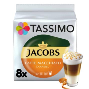 TASSIMO Jacobs Latte Macchiato Kawa w kapsułkach Caramel 268g
