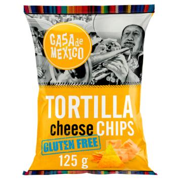 CASA DE MEXICO Tortilla chips Cheese bezglutenowe 125g