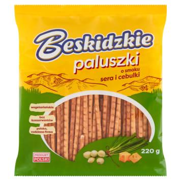 BESKIDZKIE Paluszki o smaku ser cebulka 220g