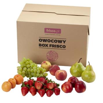 FRISCO FRESH Owocowy Box (owoce sezonowe) 7kg
