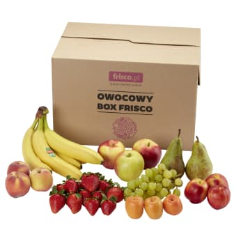 FRISCO FRESH Owocowy Box  Frisco premium 9 kg