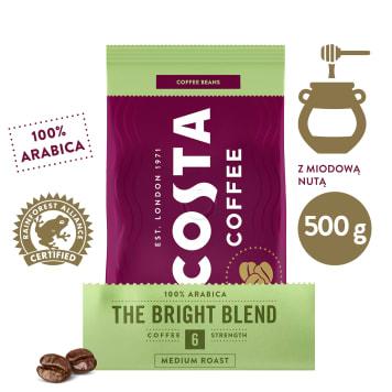 COSTA COFFEE Bright Kawa ziarnista 500g