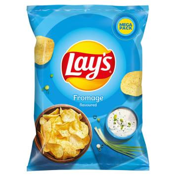LAYS MEGAPAKA Chipsy ziemniaczane Fromage