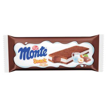 Mleczna przekąska – Zott Monte to pyszne i pożywne połączenie biszkoptu i kremu.