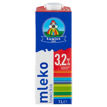 OSM ŁOWICZ Mleko UHT 3,2% 1l