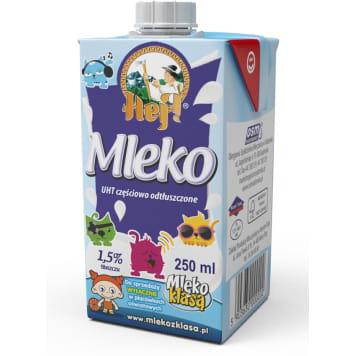 HEJ ! Mleko UHT białe 1,5 % z zakrętką 250ml