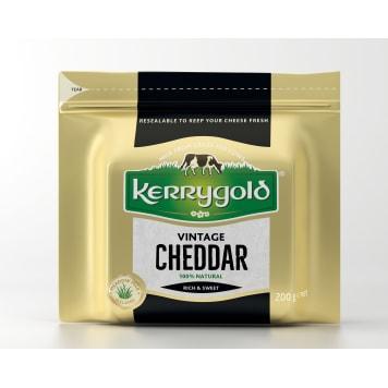 KERRYGOLD Ser Cheddar Vintage 200g