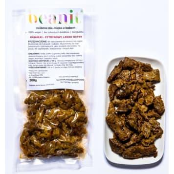 BEANIT Roślinne nie-mięso z bobem (kawałki o smaku cytrynowym) 200g