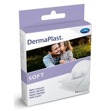 DERMAPLAST Soft Cięty plaster z opatrunkiem 8 cm x 1 m 1szt