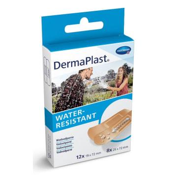 DERMAPLAST Water Resistant Plastry opatrunkowe wodoodporne 20 szt 1szt