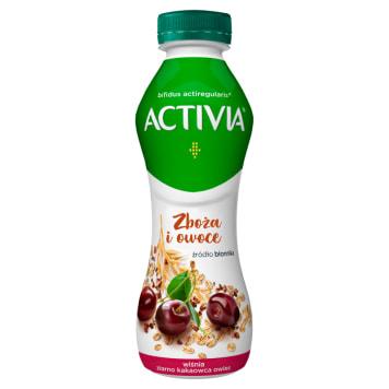 ACTIVIA Drink wiśniowo- kakaowo- owsiany 280ml