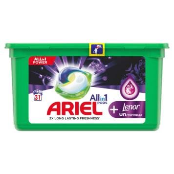 ARIEL Allin1 Pods +Unstoppable Kapsułki do prania 31 szt. 1szt