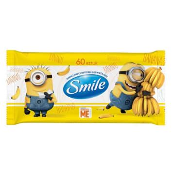 SMILE Nawilżane chusteczki odświeżające z postaciami Minionków 60 szt. 1szt