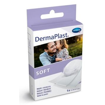 DERMAPLAST Soft Cięty plaster z opatrunkiem 6 cm x 1 m 1szt