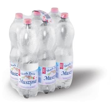 SKARB ŻYCIA MUSZYNA Naturalna woda mineralna wysokozmineralizowana niegazowana 9l