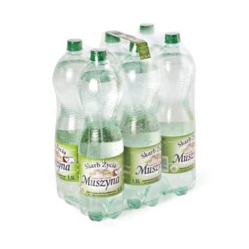SKARB ŻYCIA MUSZYNA Naturalna woda mineralna wysokozmineralizowana  gazowana 9l