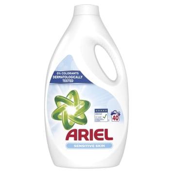 ARIEL SENSITIVE Płyn do prania tkanin jasnych i kolorowych 2.2l