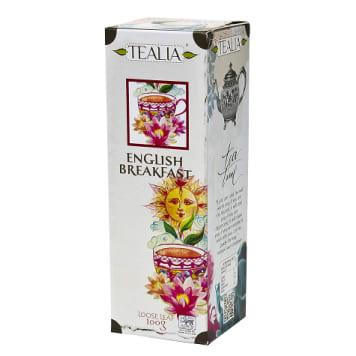 TEALIA English Breakfast Czarna, cejlońska herbata 100g