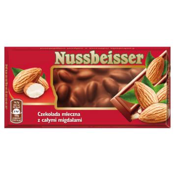 ALPEN GOLD Nussbeisser Czekolada mleczna z całymi migdałami 100g