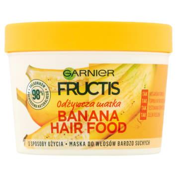GARNIER FRUCTIS Odżywcza maska do włosów bardzo suchych Banana Hair Food 390ml