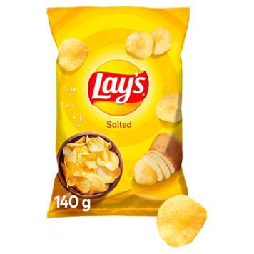 Chipsy ziemniaczane solone 140g