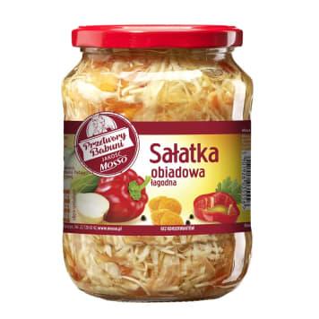 Sałatka obiadowa, 720 ml – Mosso. Kompozycja warzyw o łagodnym smaku.