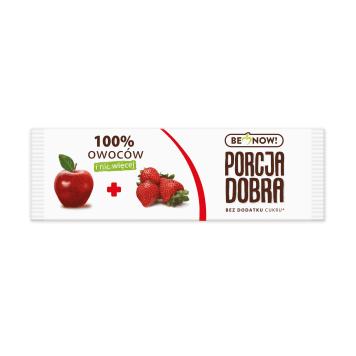 PORCJA DOBRA Przekąska jabłkowo-truskawkowa 16g