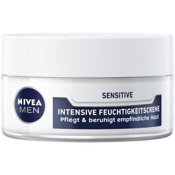 NIVEA MEN Intensywnie nawilżający krem do skóry wrażliwej Sensitive 50ml