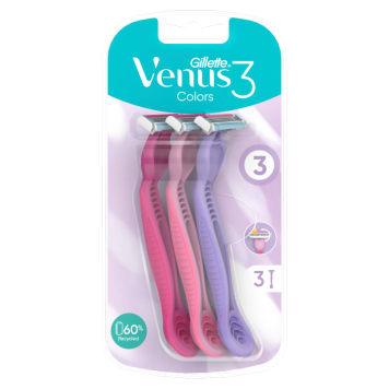 GILLETTE Venus3 Plus Maszynka do golenia - 3 szt. 1szt
