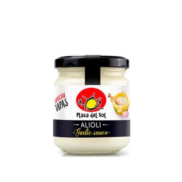 PLAZA DEL SOL Aioli - hiszpański sos czosnkowy 180g