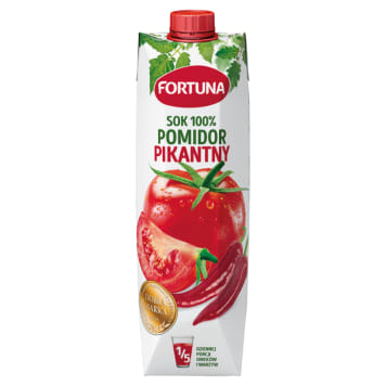 FORTUNA Sok pomidorowy Tabasco 100% 1l