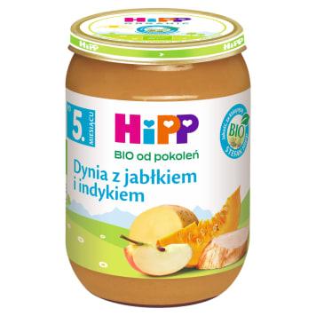 HIPP Dynia z indykiem BIO - po 5 miesiącu 190g
