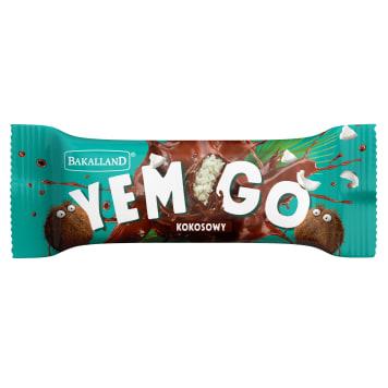 BAKALLAND YEMGO Baton Kokosowy w czekoladzie 40g
