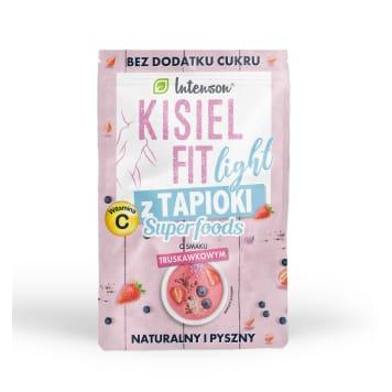 INTENSON Kisiel fit z tapioki truskawkowy 30g
