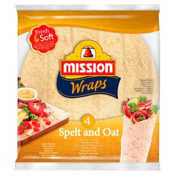 MISSION Tortilla orkiszowo owisana 4x25 245g