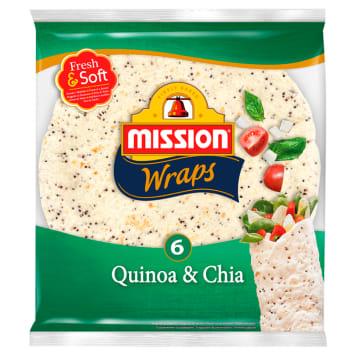 MISSION Tortilla quinoa&chia 245g