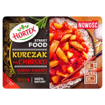 HORTEX Kurczak po chińsku słodko-kwaśny mrożony 350g